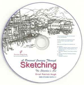 Sketching Journal CD Label3