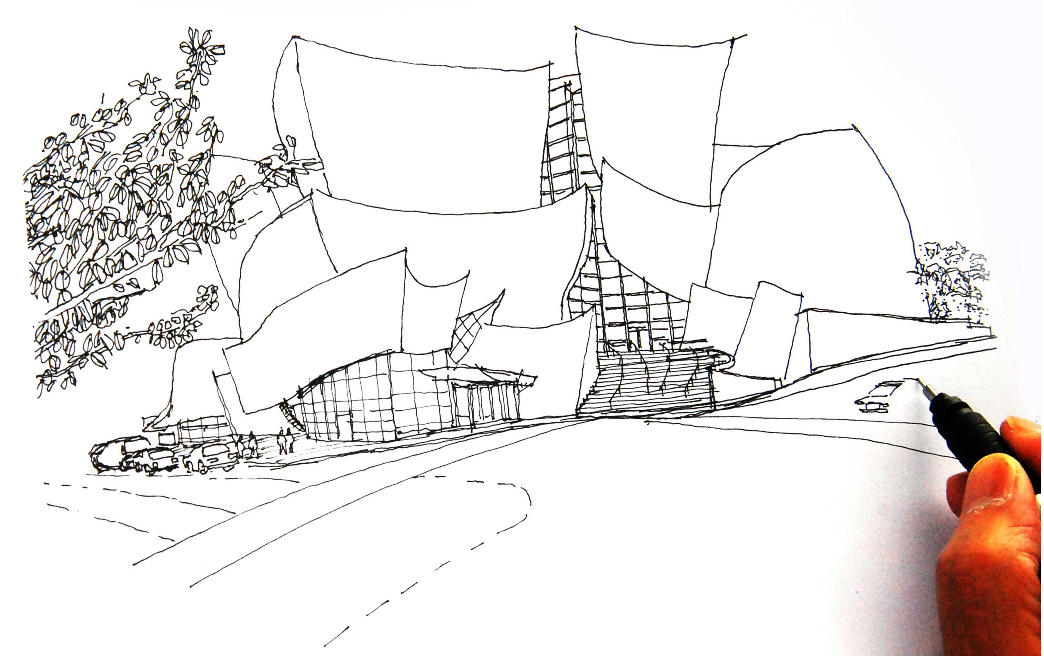 Sketching To Capture The Essence Of An Iconic Design