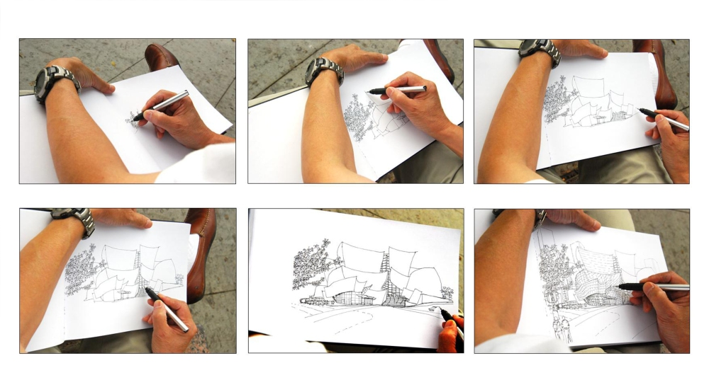 Sketching to Capture the Essence of an Iconic Design  (4/4)