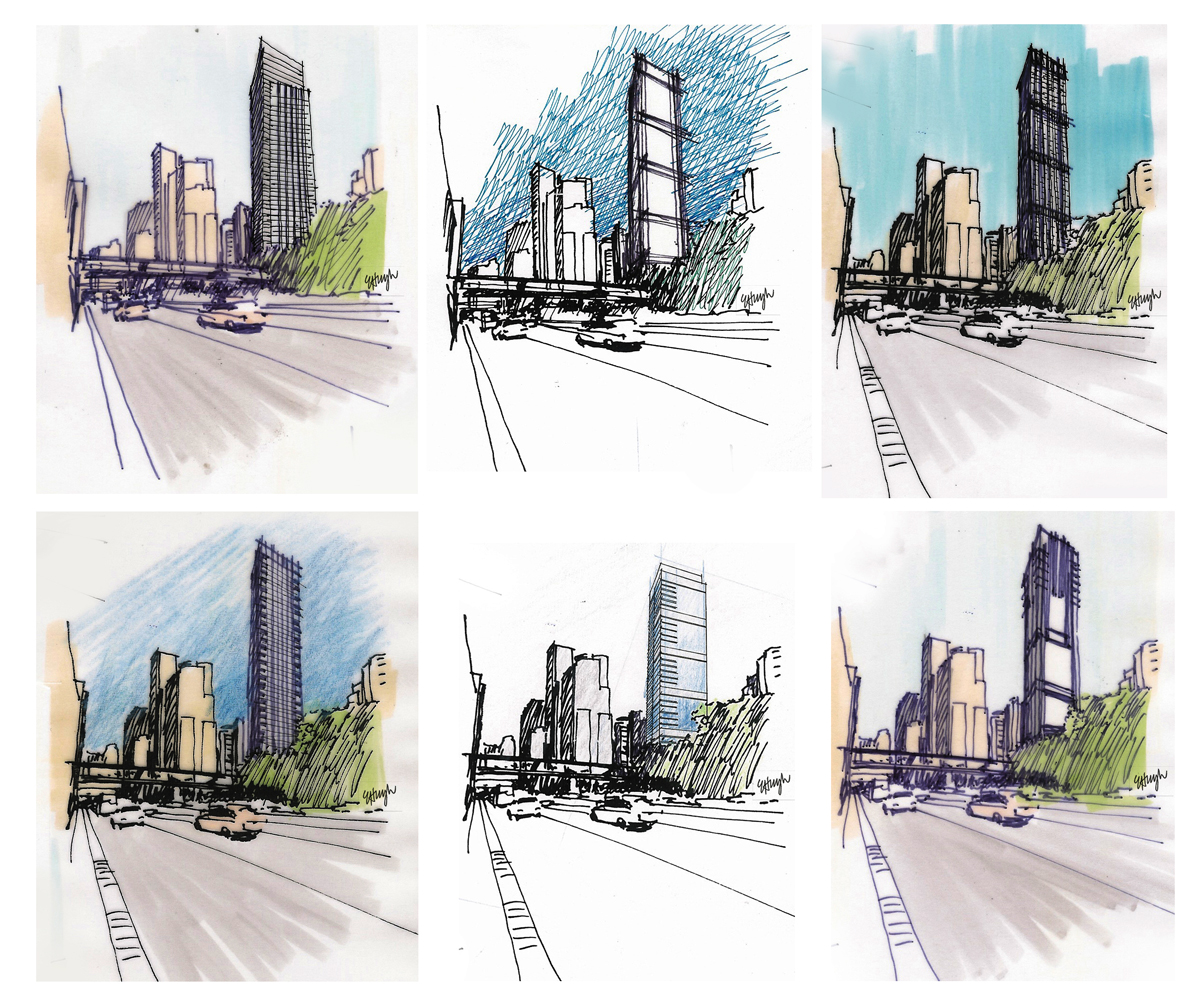 Architecture Buildings Sketch getting it right: architecture design | sketchingjourney's blog
