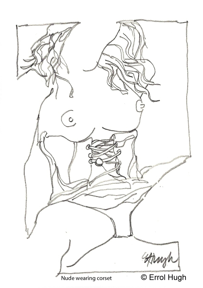 Iconic Architecture and my Nude Sketches  (1/3)