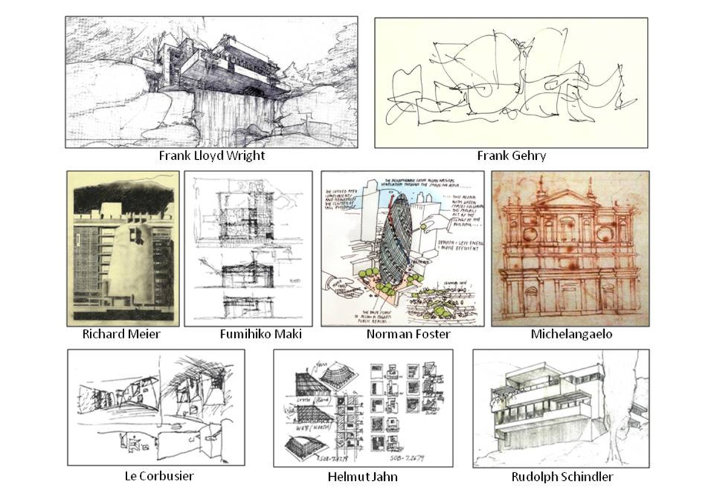 Free-Hand Sketching & Architecture (2/5)
