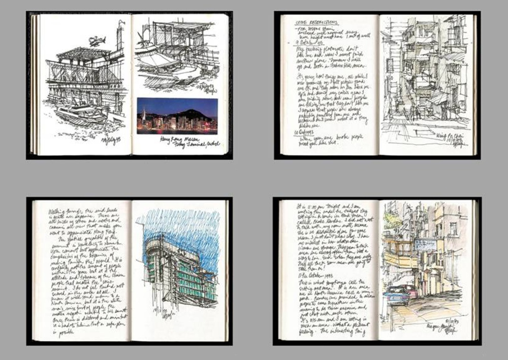 Free-Hand Sketching & Architecture (4/5)