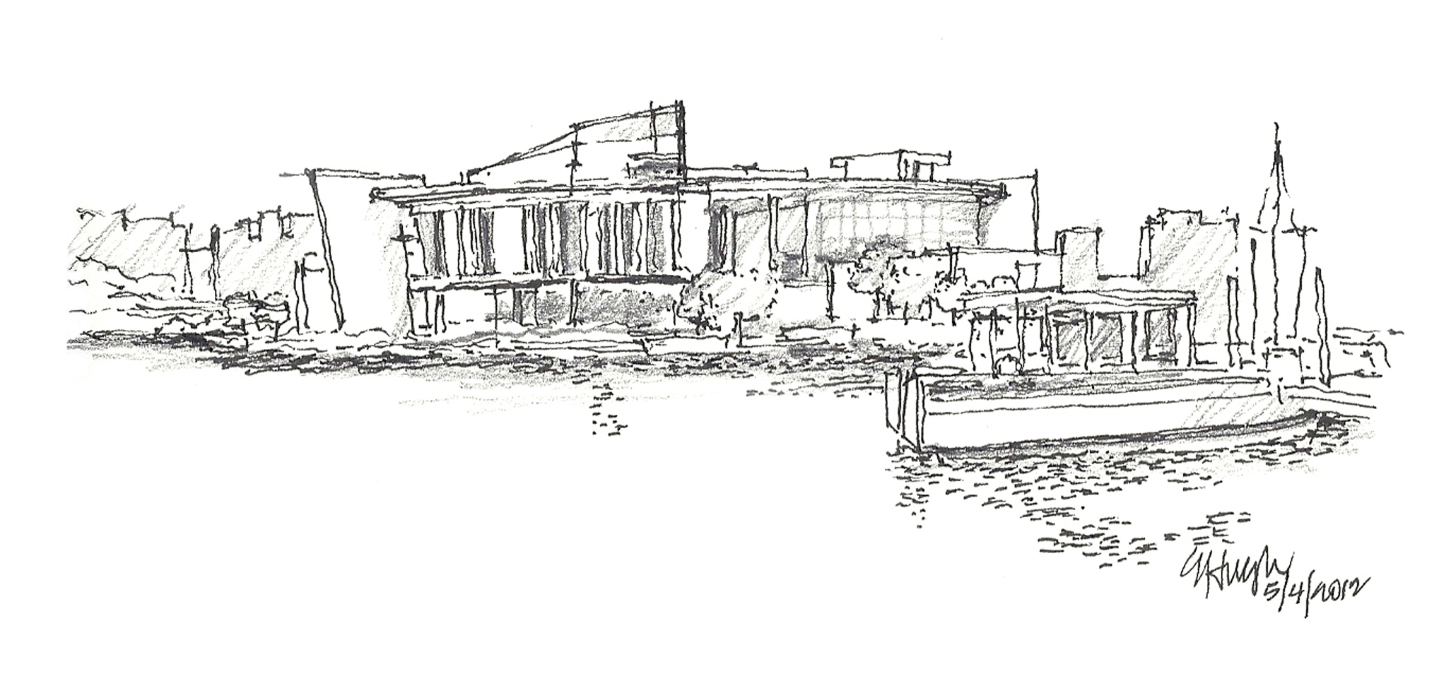 Sketchingjourney\'s Blog | Free-Hand On-Site Sketching by Errol ...