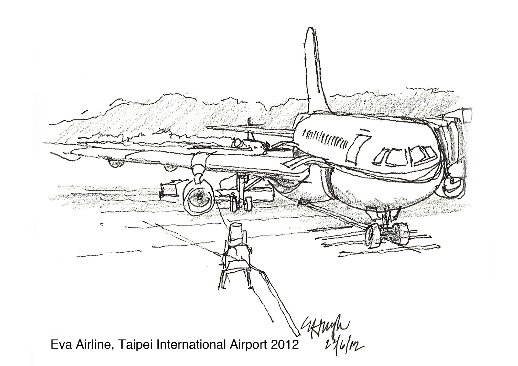 My Personal Fascination Of Sketching Airplanes