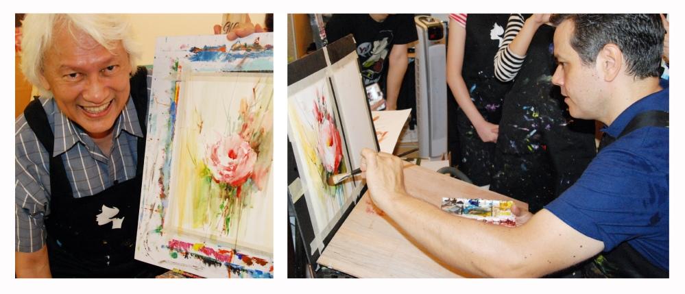 Watercolour Workshop with Brazil's Fabio Cembranelli 9th Sept 2012 (4/5)