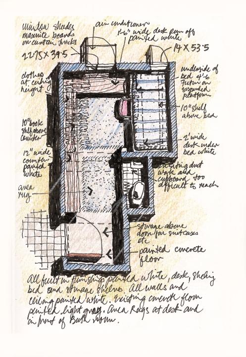 closet suite plan
