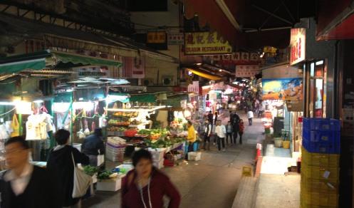 Gage Street wet market 2013