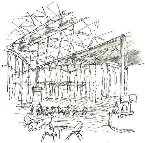 HK Airport sketch 3