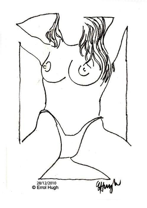 nude study 17