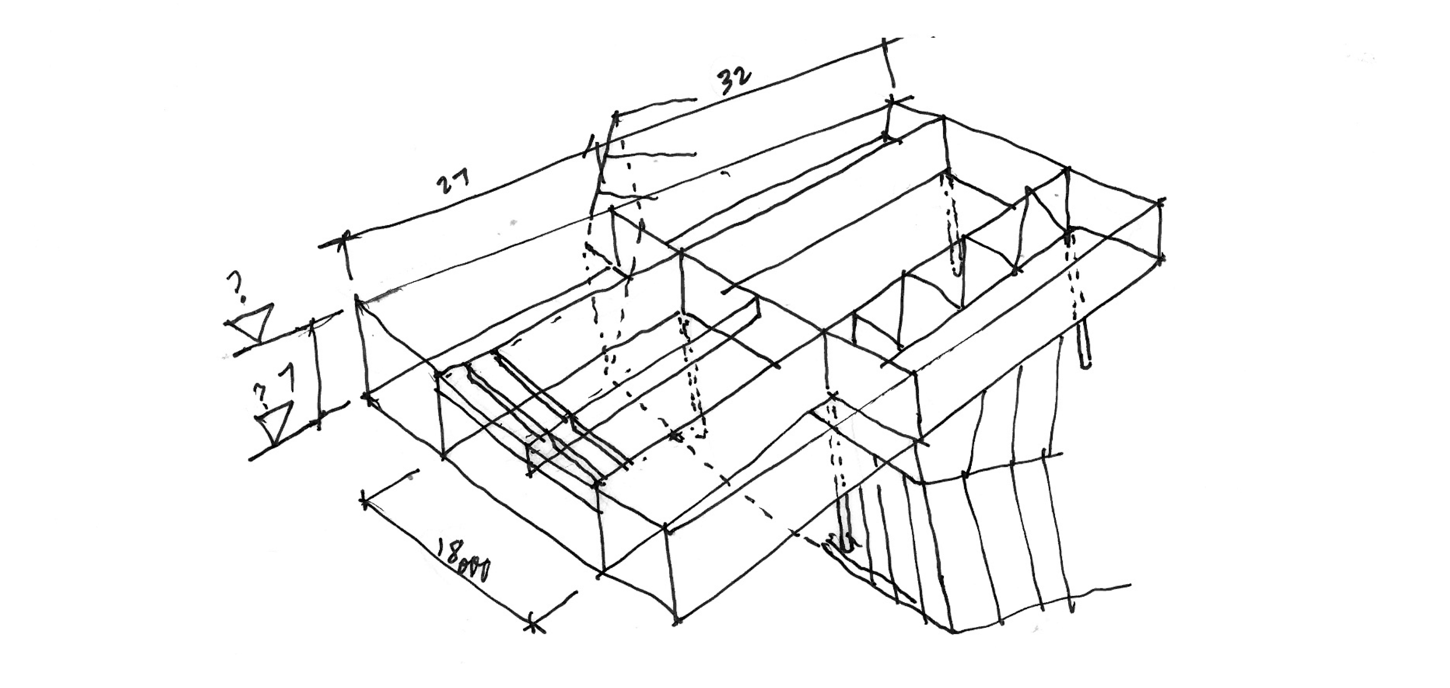 Conceptual architectural sketching sketchingjourney 39 s blog for Architecture sketch