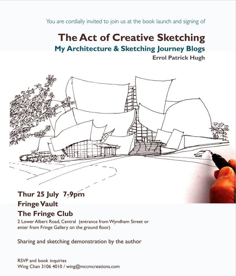 My New Book Launch, Fringe Club, Hong Kong (1/3)