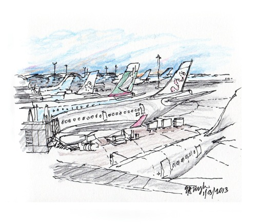 HK Internatonal Airport 2