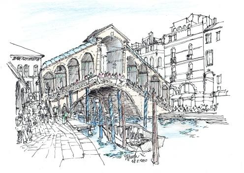 Rialto bridge Venice 2