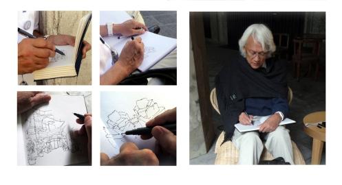 Errol sketching 2