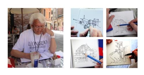Errol sketching 3