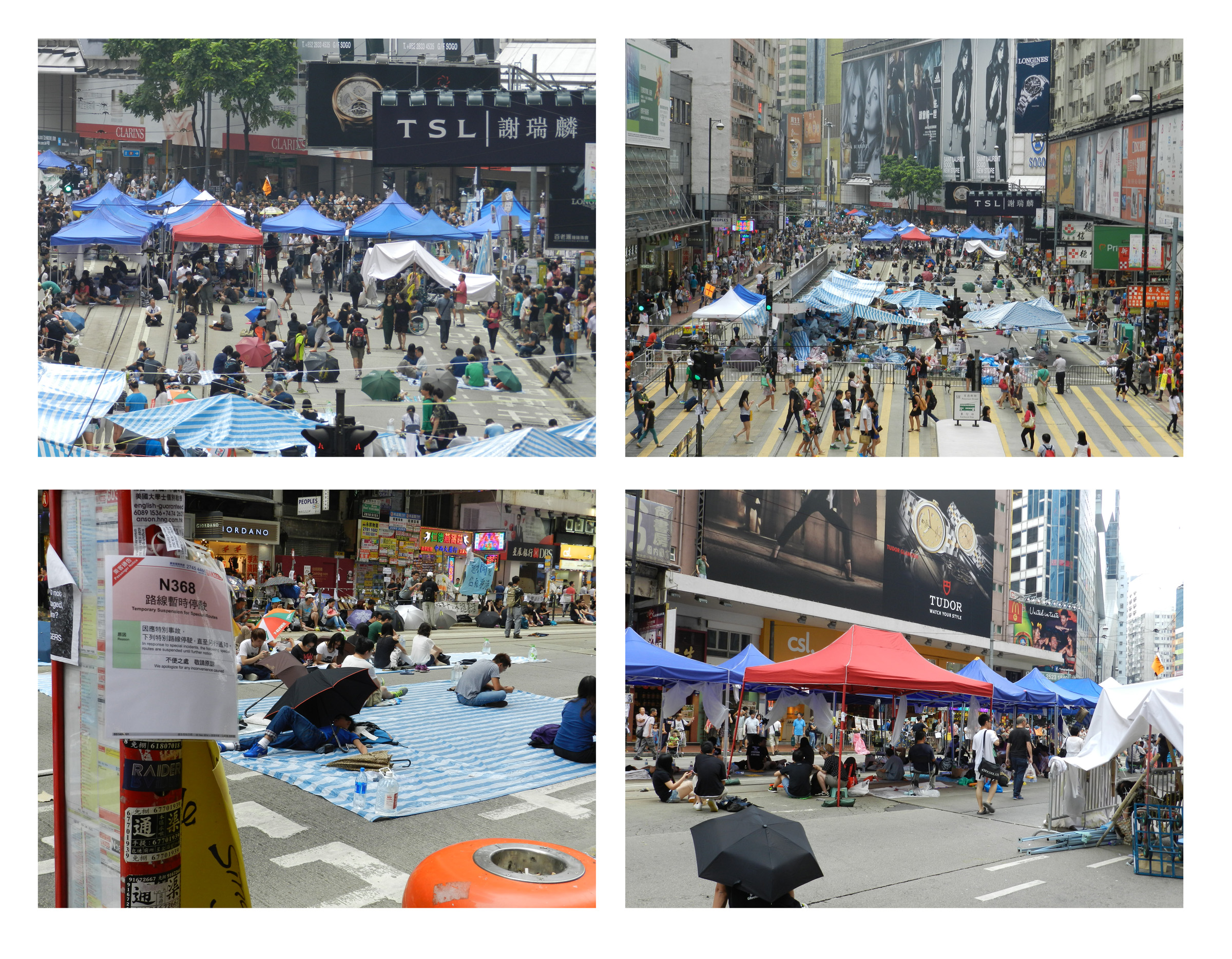 occupy central Important developments in hong kong, where students and citizens are protesting to get more democratic reforms according to various internet reports (various posts at the bbc-website, hufftington, bloomberg), college and university students went on strike last monday to protest beijing's decision.