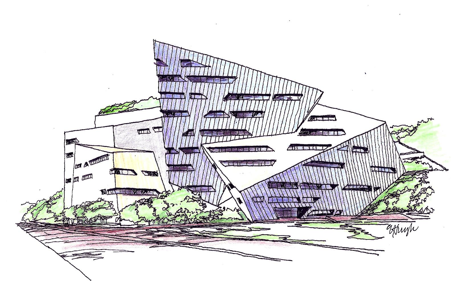 My Visit To Daniel Libeskind City University Creative