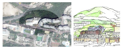 Media Centre site plan & Sketch 2