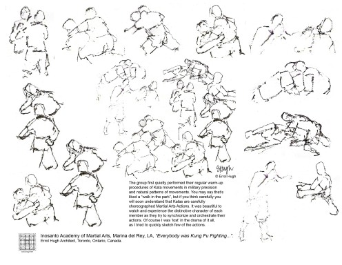 Everybody was Kung Fu Fighting…"
