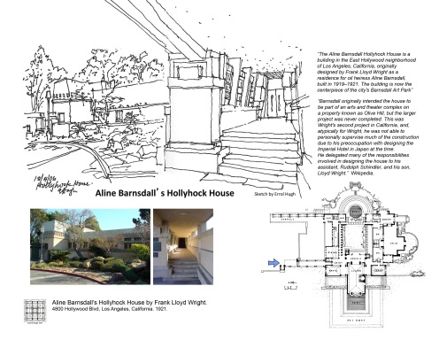 FLW Aline Barnsdall's Hollyhock House 7
