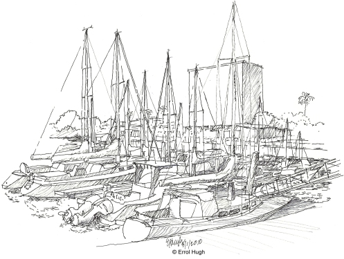 LA Venice Beach Sketch 4