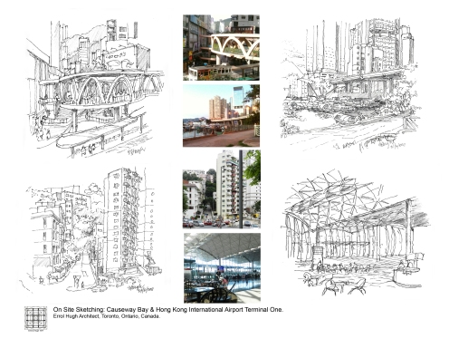 On Site Sketches