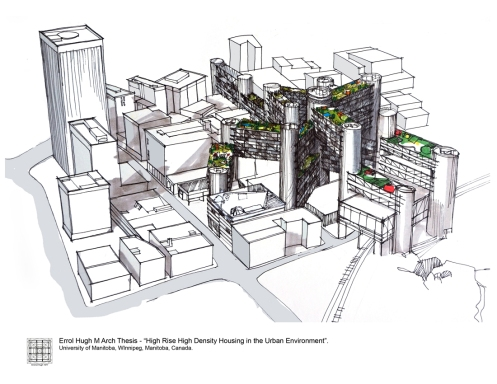 M Arch Thesis - 4 High Rise High Density Housing 2