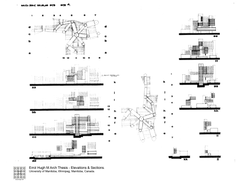 M Arch Thesis - 6 Elevations & Sections
